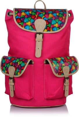 Suntop Hearts 25 L Free Size Backpack