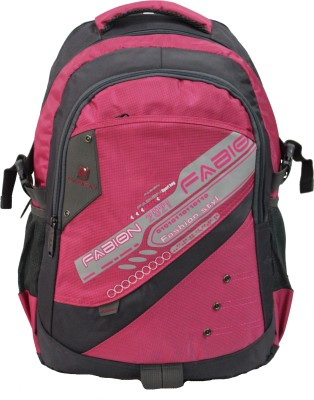 Fabion 1350 Pink N Grey 36 L Large Backpack