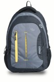 Pazzo Polo 28 L Backpack (Black, Grey, Y...