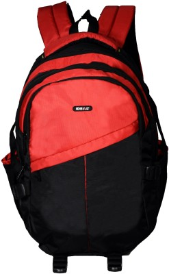 Ideal Adventure Red and Black 25 L Laptop Backpack