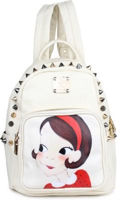 Do Bhai Fairy-1-White 15 L Backpack