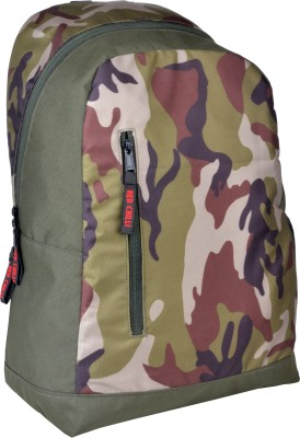 Red Chilli Alpha 18 L Free Size Backpack(Multi-Coloured)