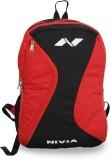 Nivia Spiral Cross 17 L Backpack (Red, B...