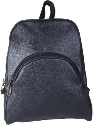 BagsRus Leatherette Black 9 L Backpack