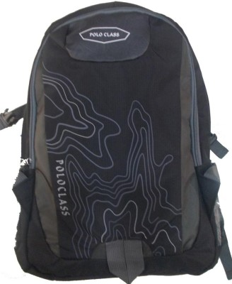 Polo Class Map-Blk Backpack