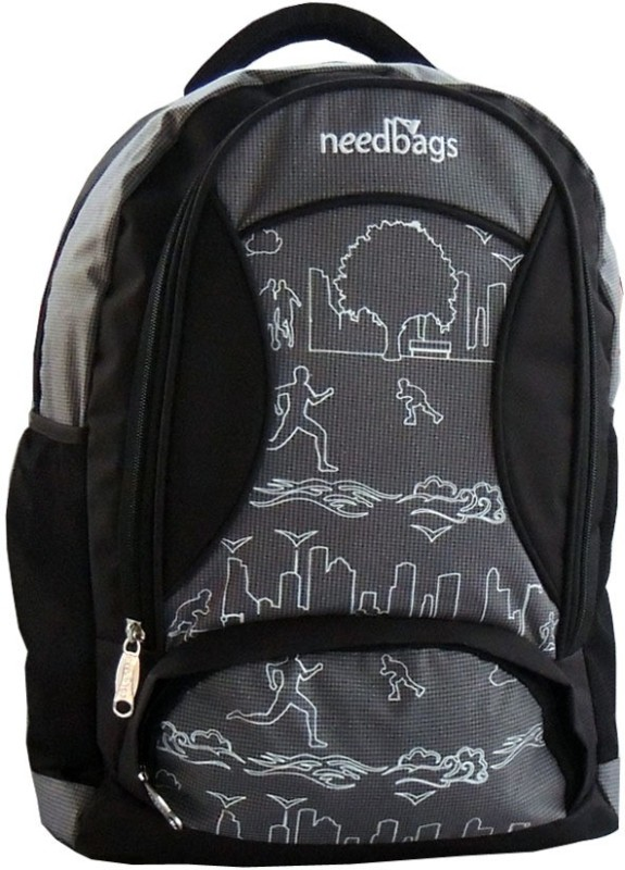 Needbags 400658 B 17 L Laptop Backpack(Black)