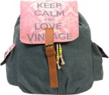 The House of Tara Canvas Medium Backpack...
