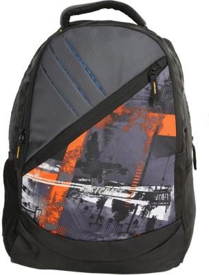 Justcraft Freedom Black and Ptinted Wld Orange Collage 20 L Backpack(Orange)