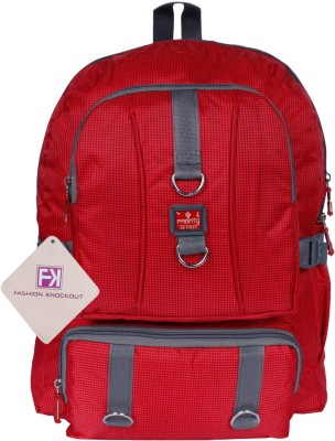 Fashion Knockout Cheakered Box Red 5 L Laptop Backpack