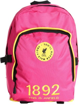 Liverpool FC Invader Pink & Yellow Polyester 18 L Backpack
