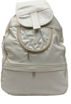 Pochette Women White 10 L Backpack