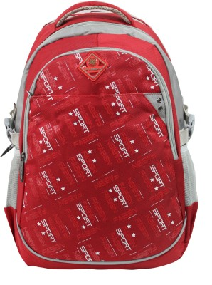 Fabion Red N Grey 30 L Large Backpack