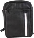 Tortoise Leather 20 L Backpack (Black)