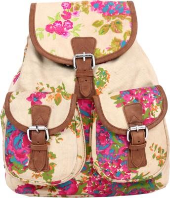 Pick Pocket Floral Back Pack 9 L Medium Backpack
