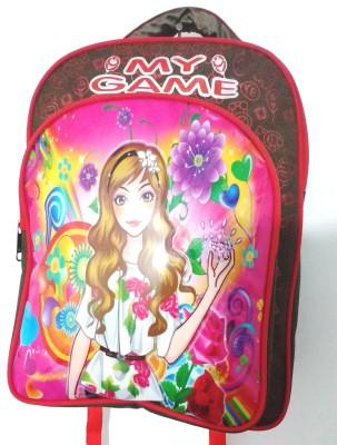 Jaibros My Game Princess School Bag For Kids 2 L Backpack