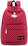 Bonmaro Polka Dots Red 24 L Backpack (Re...