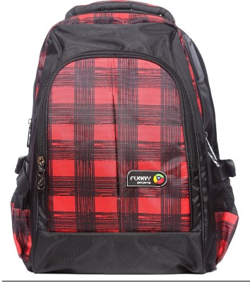 Raeen Plus Red-Strips-Funny-Sports 10 L Backpack
