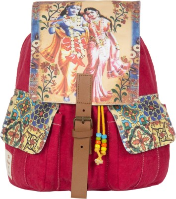 The House of Tara Printed Canvas 041 20 L Medium Backpack