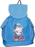 New Zovial Printed Doll 3 L Backpack (Bl...