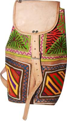 Jodhpuri's Bp-Green Fern 5 L Free Size Backpack