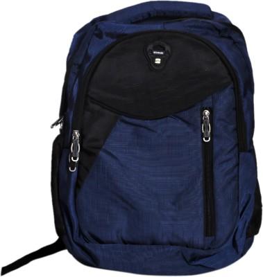 Scholex Black & Blue School Backpack 30 L Backpack