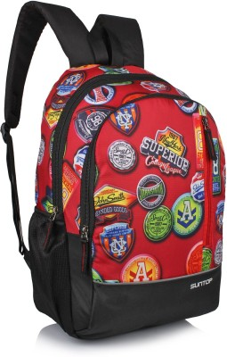 Suntop Spiffy 20 L Backpack(Printed Multicolour)