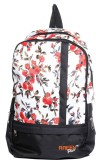 Raeen Plus RP0001-Wht-Orng 10 L Backpack...