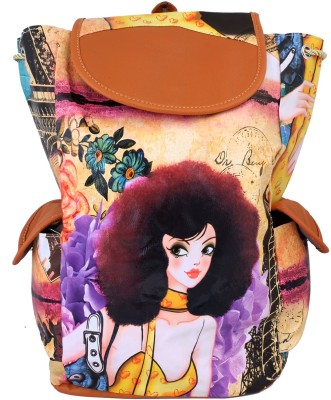 Super Drool Quirky Girl 12 L Backpack
