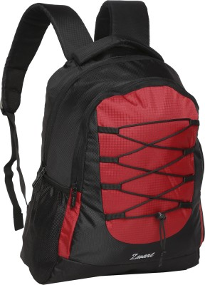 Zwart 214101 25 L Free Size Laptop Backpack(Red)