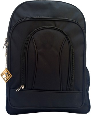 Fashion Knockout Simple Black Backpack 5 L Trolley Laptop Backpack