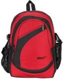 Comfy K09 20 L Backpack (Red, Black)