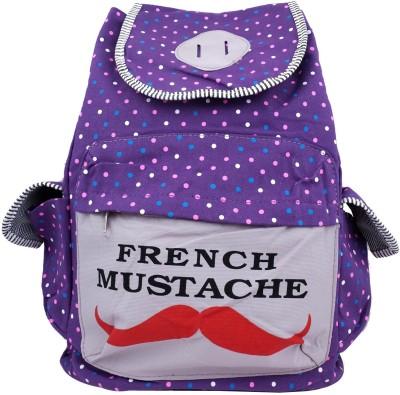 Super Drool Moochh & Dots Purple 12 L Backpack