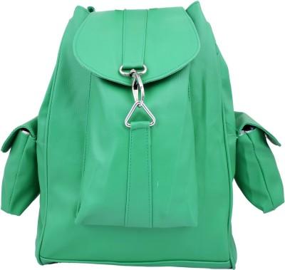 Super Drool Green Printed 7 L Backpack