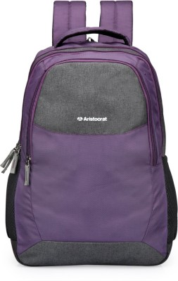 Aristocrat Dio 04 Purple 25 L Backpack(Purple)