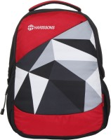 Harissons Pyramid 29 L Backpack(Red) best price on Flipkart @ Rs. 1169