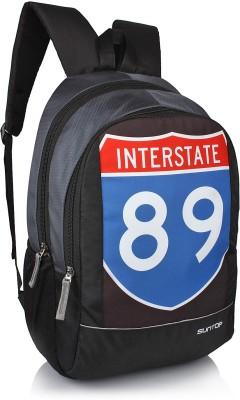 Suntop Sportstar 20 L Backpack(Black, Grey)