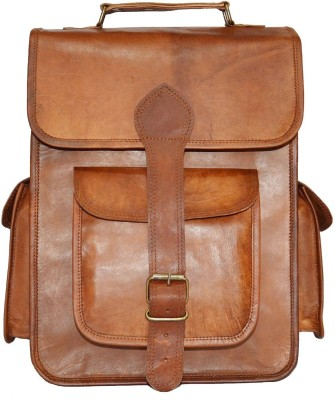 Urban Dezire Genuine Leather Vintage Style 21 L Backpack