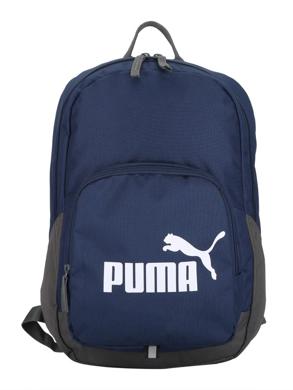 Puma Phase 21 L Laptop Backpack(Blue, Grey)