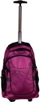 Ideal Purple 30 L Trolley Laptop Backpack(Purple)