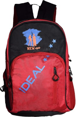 Ideal Casual Printed Multicolor 20 L Backpack