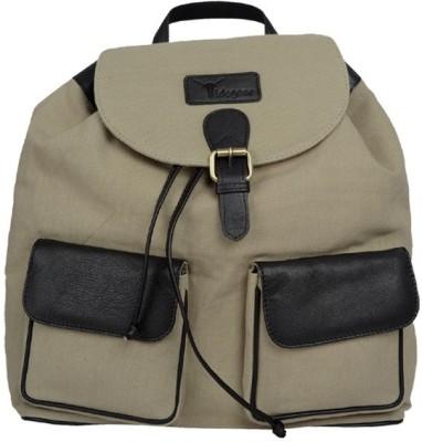 Hidegear Canvas Leather Unisex 14 L Medium Backpack