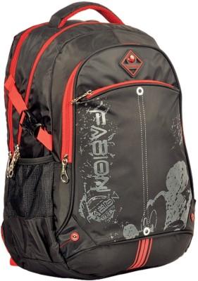 Fabion 1331 Black N Red 30 L Large Backpack
