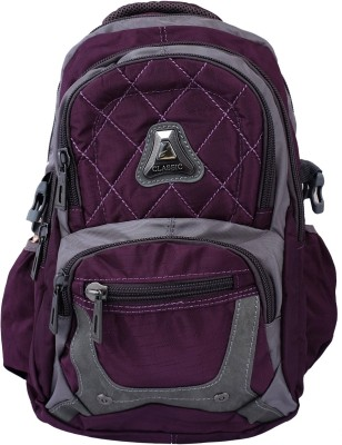 Super Drool Purple Trek and Travel 8 L Backpack