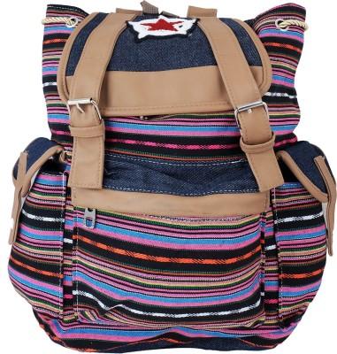 Super Drool Stripes Star 12 L Backpack