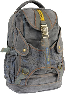 Eurostyle Canvas Series 8 L Free Size Backpack