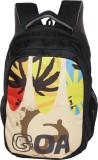 Zwart GOA-PRINT 25 L Backpack (Multicolo...