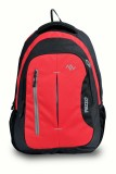 Pazzo Polo 28 L Backpack (Black, Red, Gr...