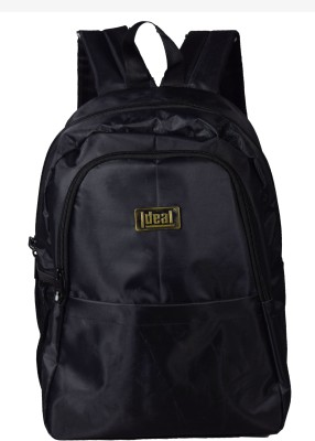 Ideal Easy Black School/Office 20 L Backpack