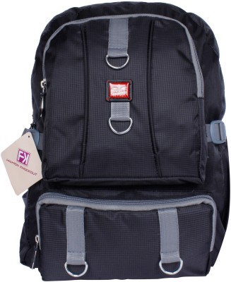 Fashion Knockout Cheakered Box Grey 5 L Laptop Backpack