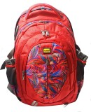 Alkah Casual College 12 L Backpack (Red)